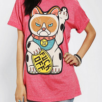 Urban Outfitters - Grumpy Cat Finger Tee