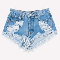 High Rise Keepers Stone Cheeky Shorts