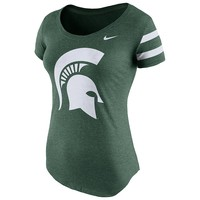 Nike Michigan State Spartans DNA Tee - Women's, Size: