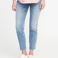 Maternity Full-Panel The Power Jean, a.k.a. The Perfect Straight |old-navy