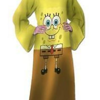 SpongeBob SquarePants Full Body Comfy Snuggie Blanket