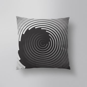 Throw Pillows for Couches / This is not a Circle 3 by Alddo Fernandez