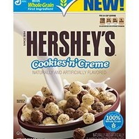 General Mills, Hershey's, Cookies 'n Creme Cereal, 10.9oz Box (Pack of 4)