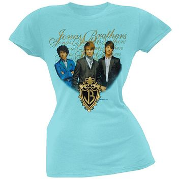 Jonas Brothers - Gold Foil Girls Youth T-Shirt