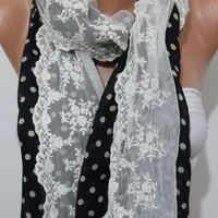 NEW Design Scarf  Super elegant  and Feminine - Romantic scarf