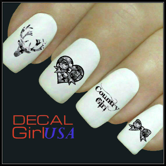 Country Girl Nail Art: Nail Art Decals 32 Country Girl Nail From Decal Girl USA