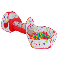 Kids Play Tent Pipeline Crawling Huge Game Play House Baby Play Yard Ball Pool without Ball