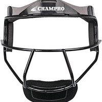 Champro Adult The Grill Softball Fielder's Facemask, Black