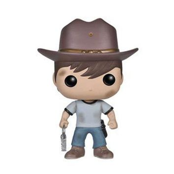 10cm New Funko Pop! Television The Walking Dead Vinyl Figure #97 Carl