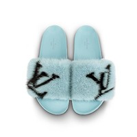Products by Louis Vuitton: Digital Exclusive Bom Dia Flat Mule