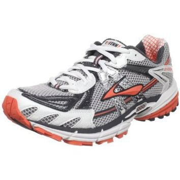 Brooks Women`s Ravenna 2 Running Shoe,Silver/Anthracite/Hot Coral/Black,11.5 B(M) US
