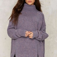 Noctural Me Turtleneck Sweater