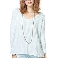 Nasty Gal Cambridge Sweater - Mint