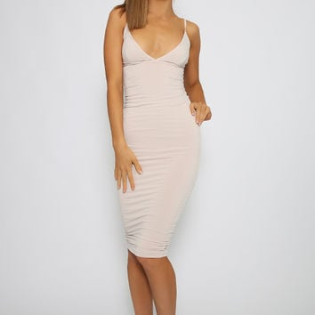 Nookie - Ti Amo Shift Dress - Nude