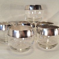 set of 12 Dorothy Thorpe silver band roly by valeriesvintagehome