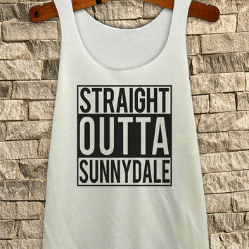Straight Outta Sunnydale Buffy the vampire slayer Inspired # Tank Top TShirt Unisex - Size S-M-L
