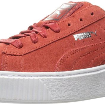 puma women s suede platform core fashion sneaker  number 2