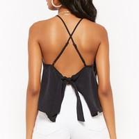 Tie-Back Halter Top