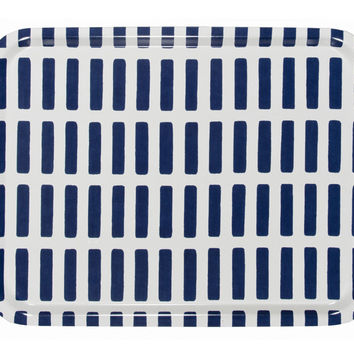 ARTEK SIENA TRAY LARGE NAVY/WHITE