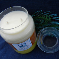 Triple Layered, Triple Fragranced Soy Candle in 26 oz Jar