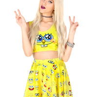 UNDER THE SEA SKATER SKIRT