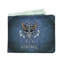 Stylish vikings wallet for men