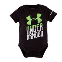 Under Armour Boys' Newborn UA Whoa Short Sleeve Bodysuit