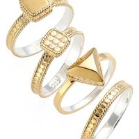 Anna Beck Stackable Rings (Set of 4) | Nordstrom