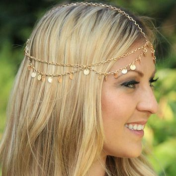New arrival headband women  Tassels Head Chain for Party Headpiece Hair Band top sale hair accessories for women hairpin #48