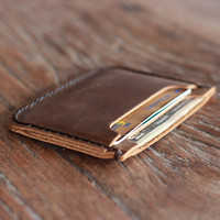 Front Pocket Double Sleeve Wallet with Rounded Corners - NEW Slimmer Version - 039