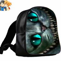 cheshire cat smile alice   for Backpack / Custom Bag / School Bag / Children Bag / Custom School Bag