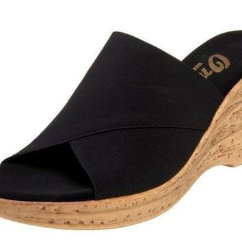 MDIGYW3 Onex Christina Black Sandals