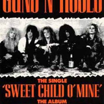 Guns N' Roses Sweet Child of Mine Poster 11x17