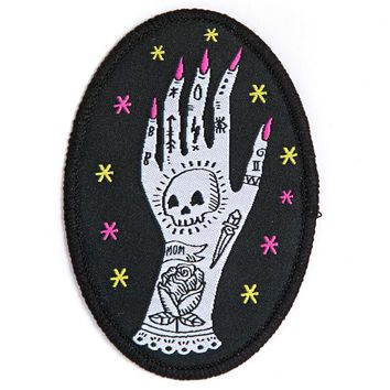 Tattooed Lady Hand Patch