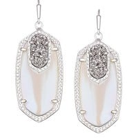 Emmy Drop Earrings in Platinum Orbit - Kendra Scott Jewelry