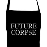 Future Corpse Crossbody Sling Bag Alternative Cemetery Funeral