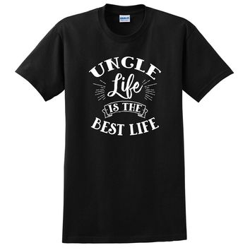 Uncle life is the best life gift for uncle tio pregnancy reveal cute T Shirt