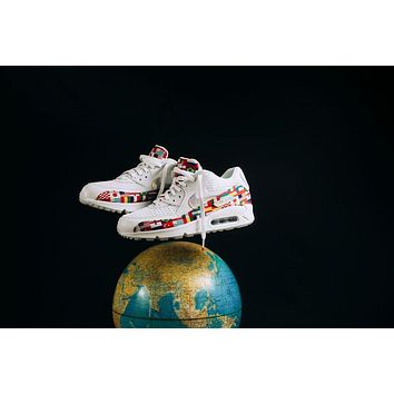 Nike Air Max 90 Nic Qs International Flag Ao5119 100 Sneaker | Best Deal Online