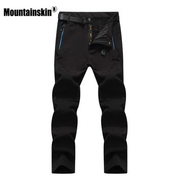 Mountainskin Men's Winter Waterproof Fleece Lined Pants
