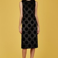 Toga Pulla Flocky Print Dress - WOMEN - JUST IN - Toga Pulla - OPENING CEREMONY