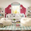 Lounge Room Decorating Ideas | Bright Colors