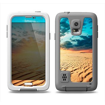 The Sunny Day Desert Samsung Galaxy S5 LifeProof Fre Case Skin Set
