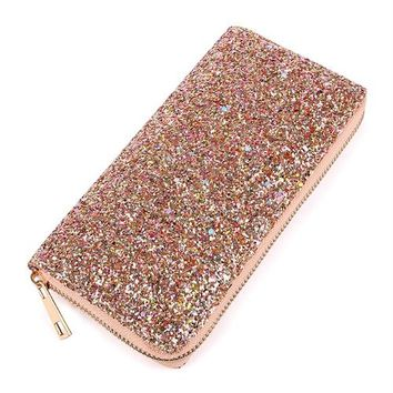 Bling Bling Glitter Wallet Clutch