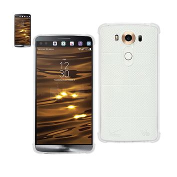 New Mirror Effect Case With Air Cushion Protection In Clear For LG V10 By Reiko