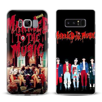 SHINee KPOP Boy group Phone Case For Samsung Galaxy S4 S5 S6 S7 Edge S8 S9 Plus Note 8 2 3 4 5 A5 A7 J5 2016 J7 2017 Cover Shell