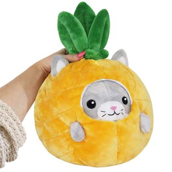 """Squishable Undercover Kitty in Pineapple 7"""""""