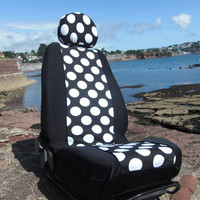 Car seat covers by funkmyseat on Etsy
