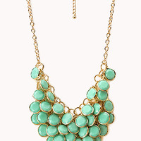 FOREVER 21 Dancing Hour Bib Necklace