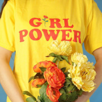 """GIRL POWER"" T-SHIRTS"