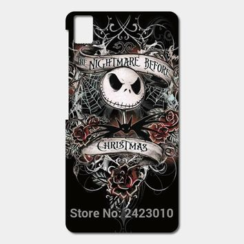 High Quality Cell phone cases For BQ Aquaris E5 E6 M5 X5 and X5 Plus case HHs Nightmare Before Christmas Patterned Cover